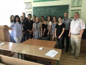 Відбулося засідання студентського наукового клубу