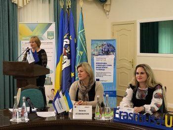 Працівники ТНЕУ взяли участь у Міжнародному інформаційному тижні програми Еразмус+ в Україні