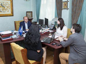 Ректор ТНЕУ зустрівся із представниками організації AIESEC