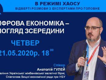 «Цифрова економіка – погляд зсередини», – Анатолій Гулей.