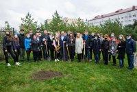 Класичний університет Тернополя взяв участь у Всеукраїнському проєкті «Озеленення України»