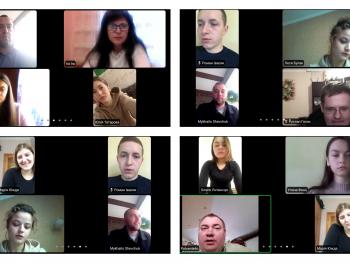 Он-лайн захист звітів про проходження переддипломної практики студентами денної форми навчання